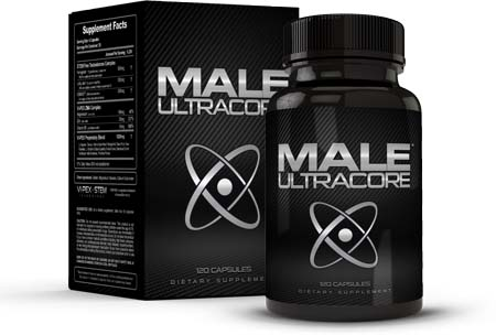 Box of Male UltraCore Supplements